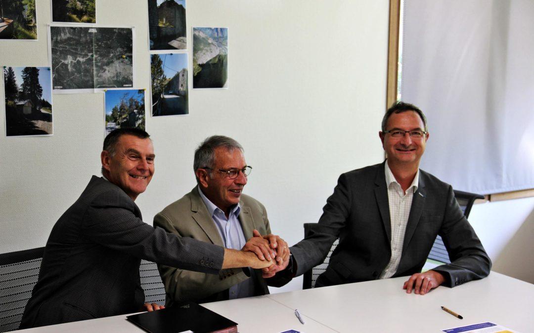 Une coopération gagnant-gagnant entre la SOREA et ENEDIS sur la commune de Valloire