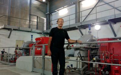 Interview de Benoît Sanchez – responsable du pôle «Production Hydraulique»