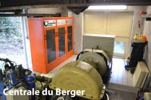 Centrale hydraulique du Berger Soréa Maurienne