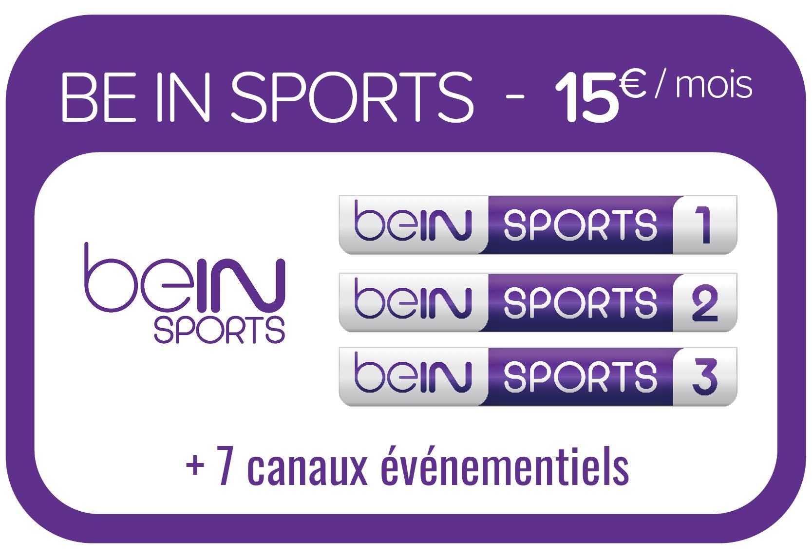 pack thématique bein sports tv cable offre soréa maurienne