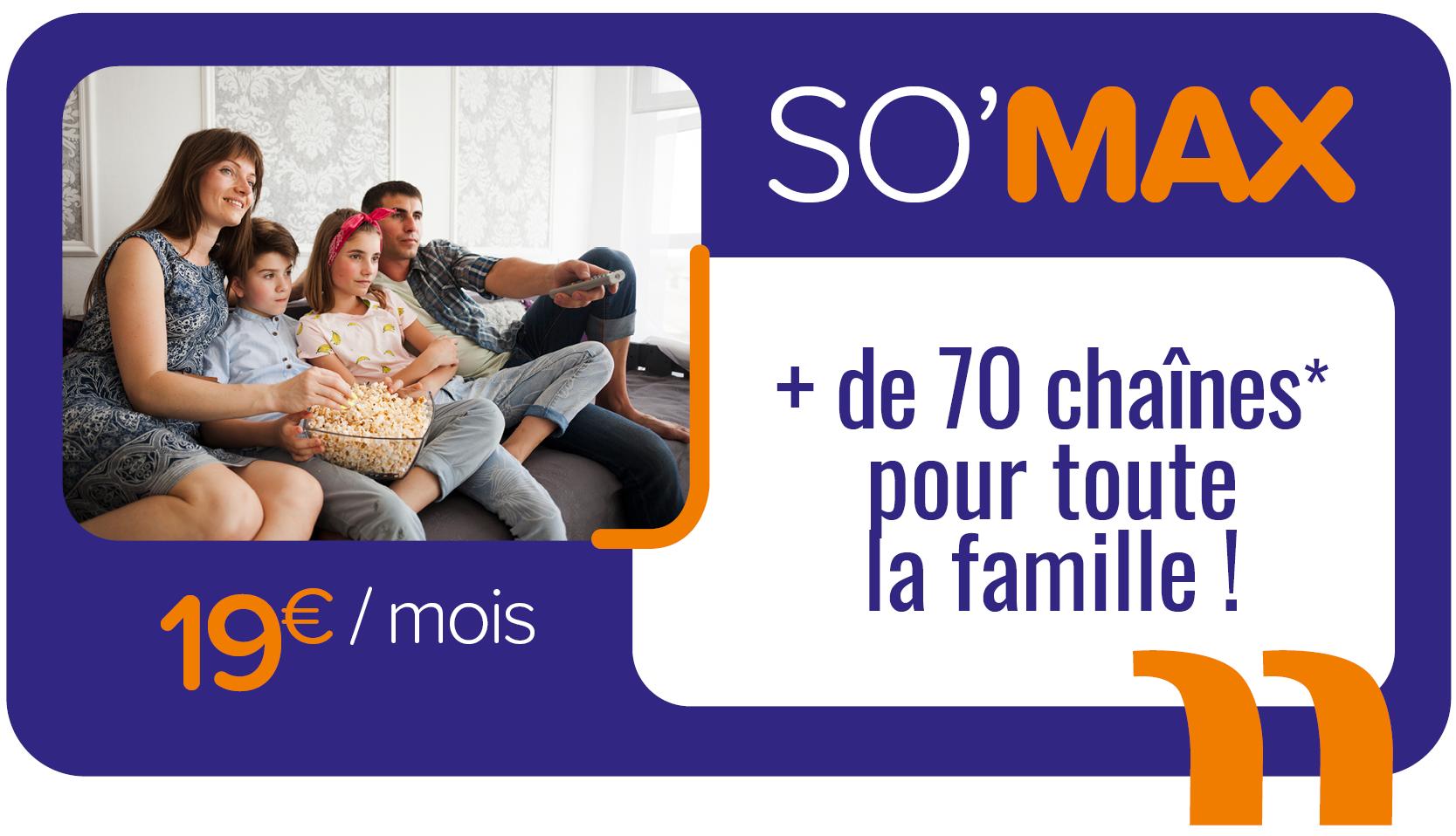 so max offre tv télévision cable maurienne soréa