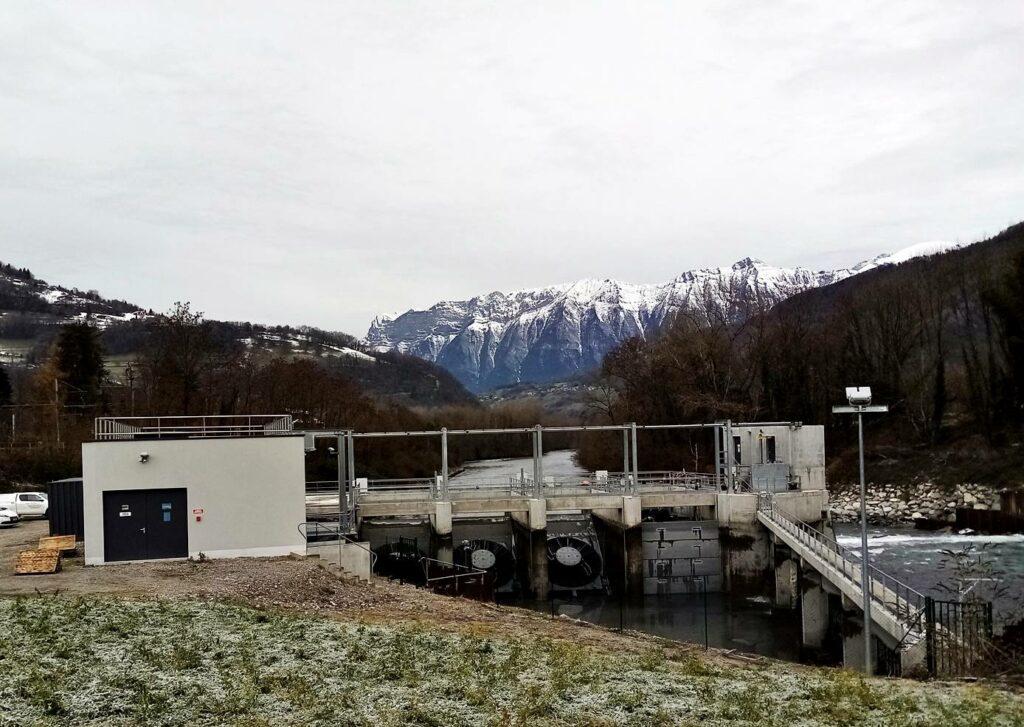 Centrale hydroélectrique Aquabella- Aiguebelle