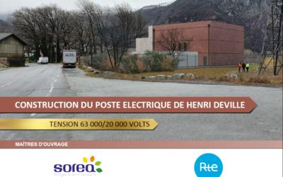 Début des travaux du nouveau poste source à St Jean de Maurienne