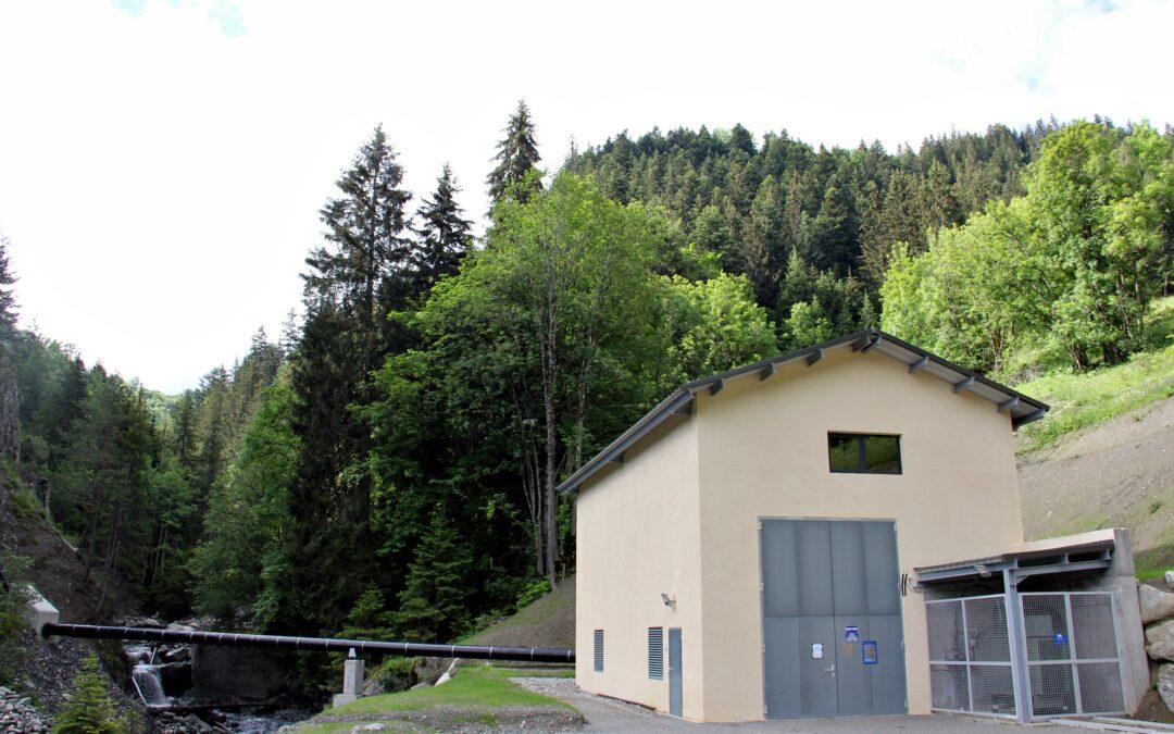 La centrale du Pradin présentée aux élus d'Albiez-Montrond