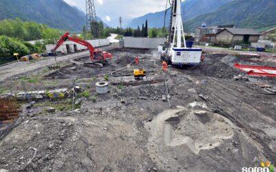 [Vidéo] Timelapse : Construction du poste source Henri Deville