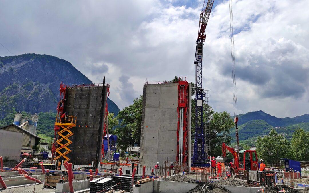 [Vidéo] Timelapse Juin 2021 – Construction du poste Source