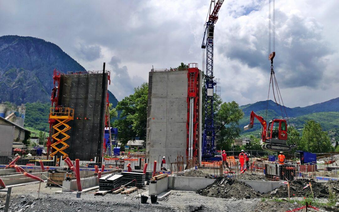 [Vidéo] Timelapse septembre 2021 – Construction du poste Source Henri Deville